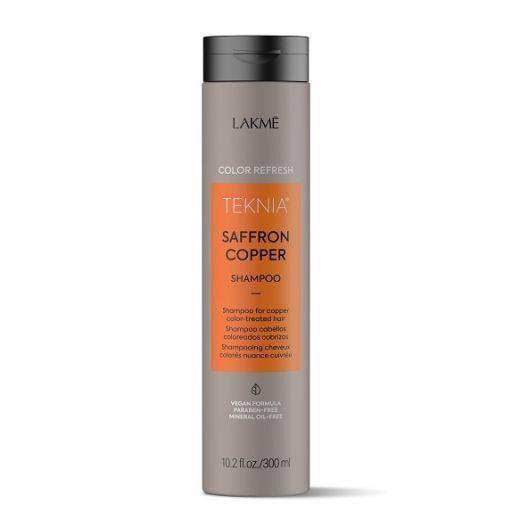 Lakmé Teknia Refresh Saffron Copper Shampoo  (Oranžas krāsas atjaunojošs šampūns)