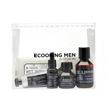 Ecooking Travel Set Man  (Sejas kopšanas komplekts vītietim)