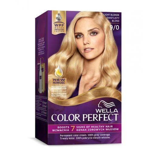 Wella Color Perfect 9/0 Light Blond  (Matu krāsa)