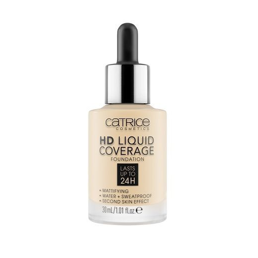Catrice Cosmetics HD Liquid Coverage Foundation  (Tonālais krēms)