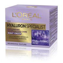 L'Oreal Paris Hyaluron Specialist Night Cream  (Sejas nakts krēms)