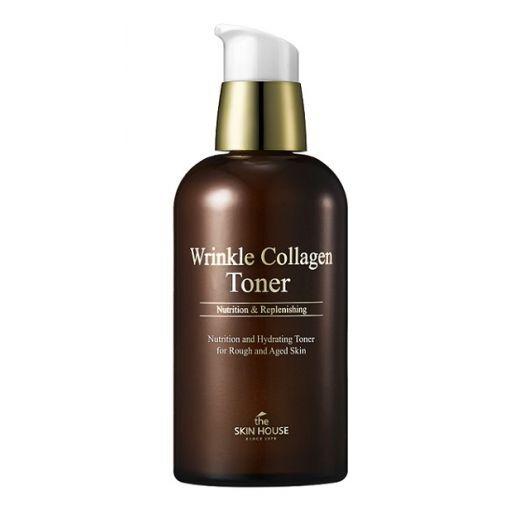 The Skin House Wrinkle Collagen Toner  (Grumbu izlīdzinošs toniks sejai)