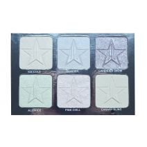 Jeffree Star Cosmetics Skin Frost Platinum Ice  (Acu ēnu palete)