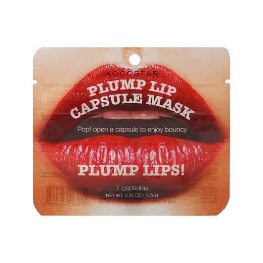 Kocostar Plump Lip Capsule Mask  (Pilnīgu lūpu kapsulveida maska)