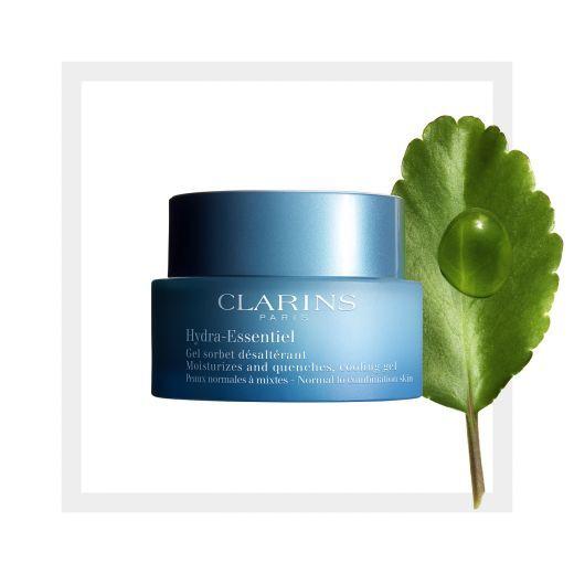Clarins Hydra-Essentiel Cooling Gel   (Sejas krēms - gēls)