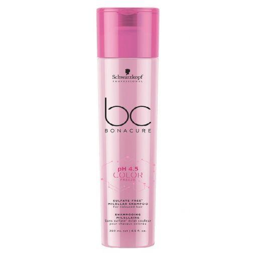 Schwarzkopf BC Bonacure pH 4.5 Color Freeze Sulfate-Free Micellar Shampoo  (Micelārais šampūns krāso