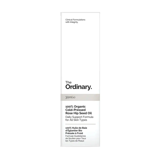 The Ordinary 100% Organic Cold-Pressed Rose Hip Seed Oil  (100% bioloģiska auksti spiesta mežrožu au