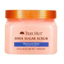 Tree Hut Shea Sugar Scrub Moroccan Rose      (Cukura skrubis ķermenim)