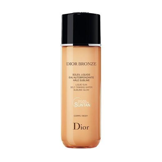 Dior Branze Self-Tanning Liquid Sun  (Izmidzināms ūdens, kas nodrošina lielisku un vienmērigu iedegu