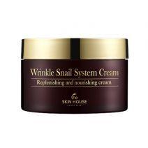The Skin House Wrinkle Snail System Cream  (Pretnovecošanās sejas krēms)