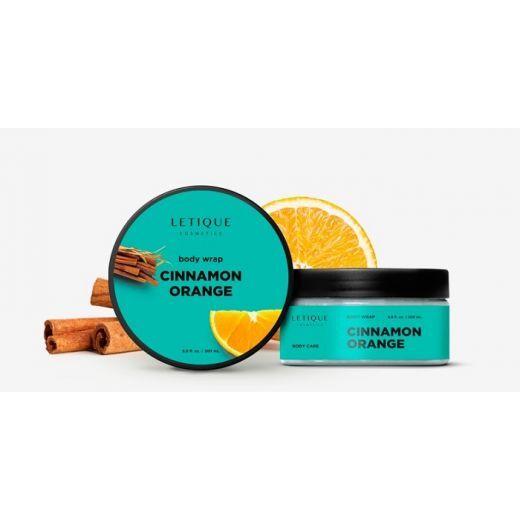 Letique Cosmetics Hot Body Wrap Gel Cinnamon - Orange  (Kaneļa - apelsīna karstā ietīšanās)