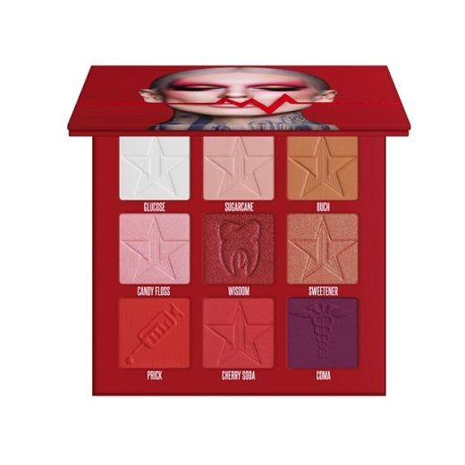 Jeffree Star Cosmetics Blood Sugar Mini Palette  (Acu ēnu palete)