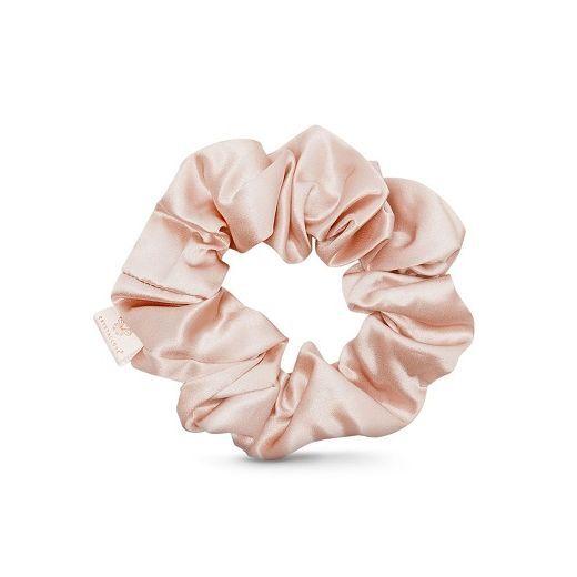 Crystallove Silk Scrunchie - Gold  (Zīda matu gumija)