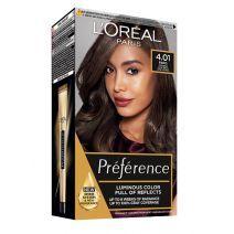 L'Oreal Paris Preference Hair Color 4.01 Paris  (Matu krāsa)