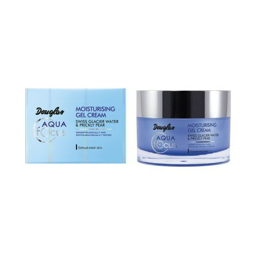 Douglas Focus Aqua Moisturizing Gel-Cream   (Mitrinošs želejkrēms sejai)