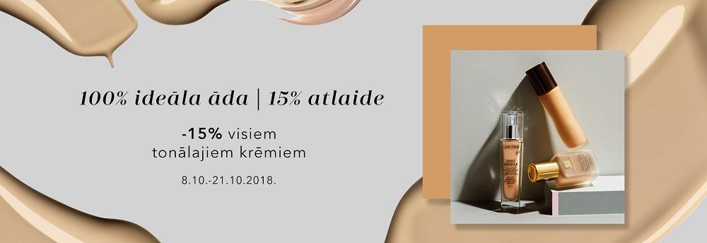 Tonālie krēmi -15%